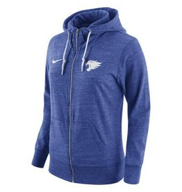 Nike Team Sports HOODY, LADIES, NIKE, FULL-ZIP, VINTAGE, ROYAL, UK