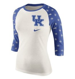 Nike Team Sports TEE, LADIES, 3/4 SLEEVE, RAGLAN, UK