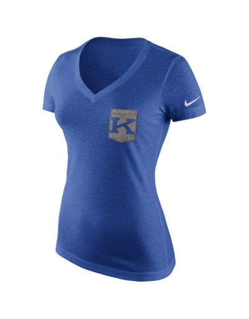 Nike Team Sports TEE, LADIES, SS, POCKET, UK