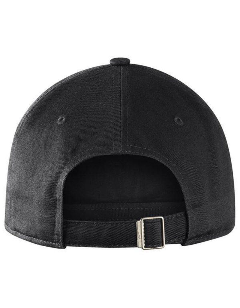 Nike Team Sports HAT, ADJUSTABLE, NIKE, HERITAGE 86, BLACK/GRAY, UK