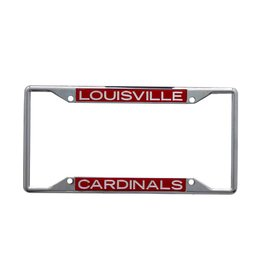 Stockdale Technologies LICENSE FRAME, CHROME, RED, UL