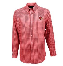Antigua Group DRESS SHIRT, LS, ASSOCIATE, RED, UL