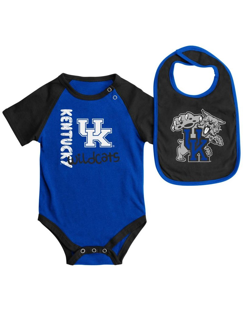 Colosseum Athletics INFANT SET, ONESIE & BIB, ROOKIE, UK
