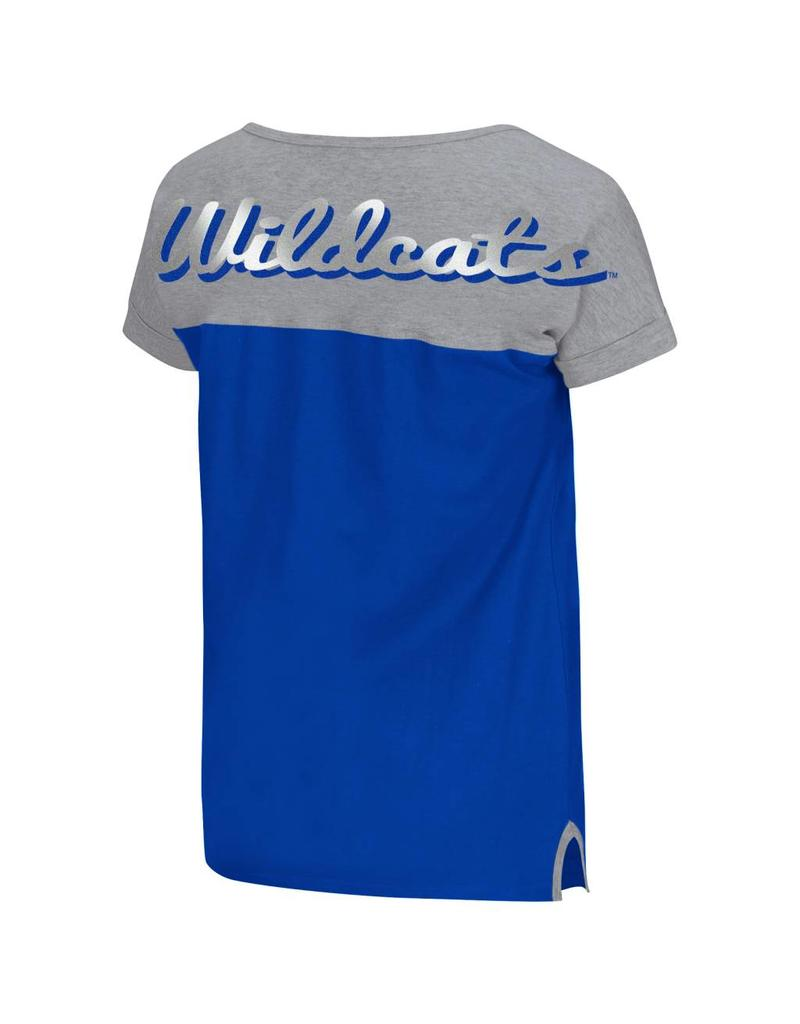 Colosseum Athletics TEE, LADIES, SS, VAULT, ROYAL/GRAY, UK