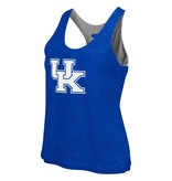 Colosseum Athletics TANK, LADIES, REVERSIBLE, GRAY/ROYAL, UK