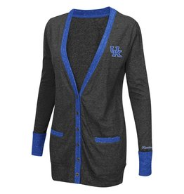 Colosseum Athletics LADIES, LS, CARDIGAN (MSRP $50.00), UK