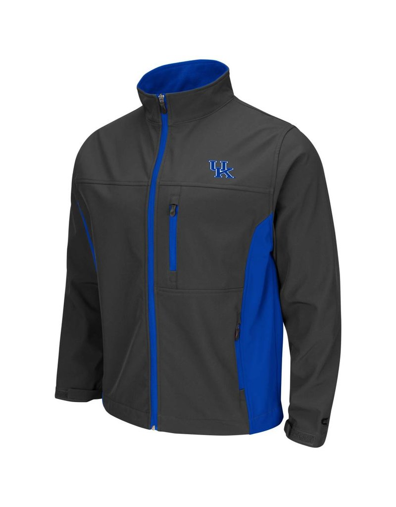 Colosseum Athletics JACKET, YUKON 2, CHARCOAL/ROYAL, UK