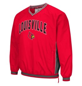 Colosseum Athletics PULLOVER, FAIR CATCH (MSRP $75.00), RED, UL
