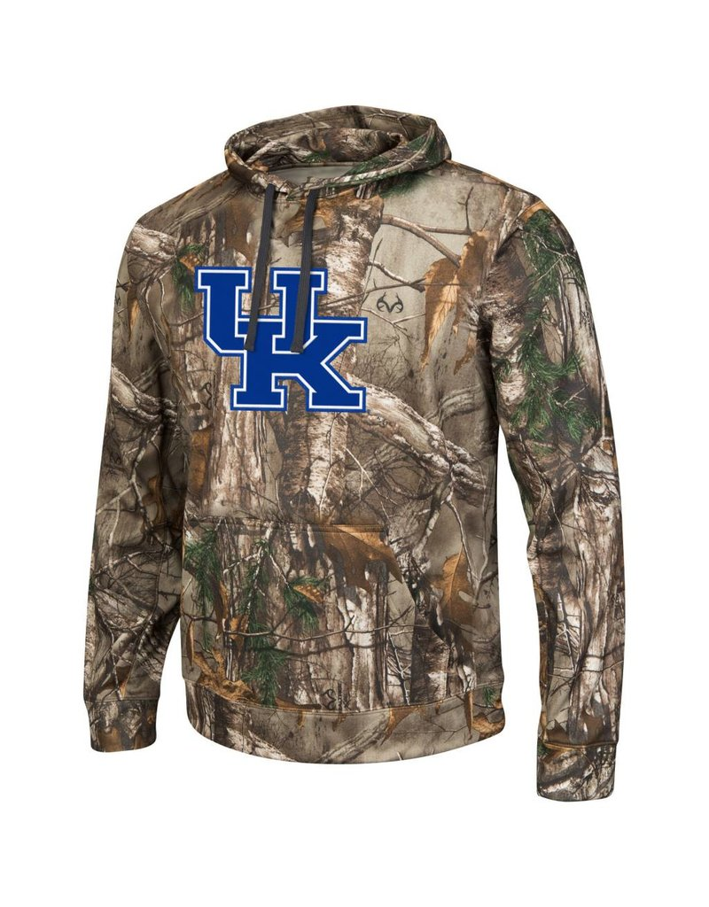 Colosseum Athletics HOODY, REALTREE CAMO (MSRP $85.00), UK