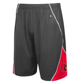 Colosseum Athletics SHORT, SLEET, CHAR/RED, UL