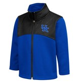 Colosseum Athletics JACKET, TODDLER, FULL ZIP, SLEET, ROYAL/BLACK, UK