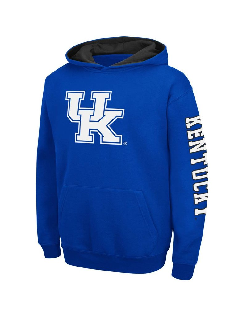 Colosseum Athletics HOODY, YOUTH, ZONE (MSRP $50.00), ROYAL, UK