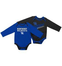 Colosseum Athletics ONESIE, INFANT, LS, 2-PACK (MSRP $40.00), UK
