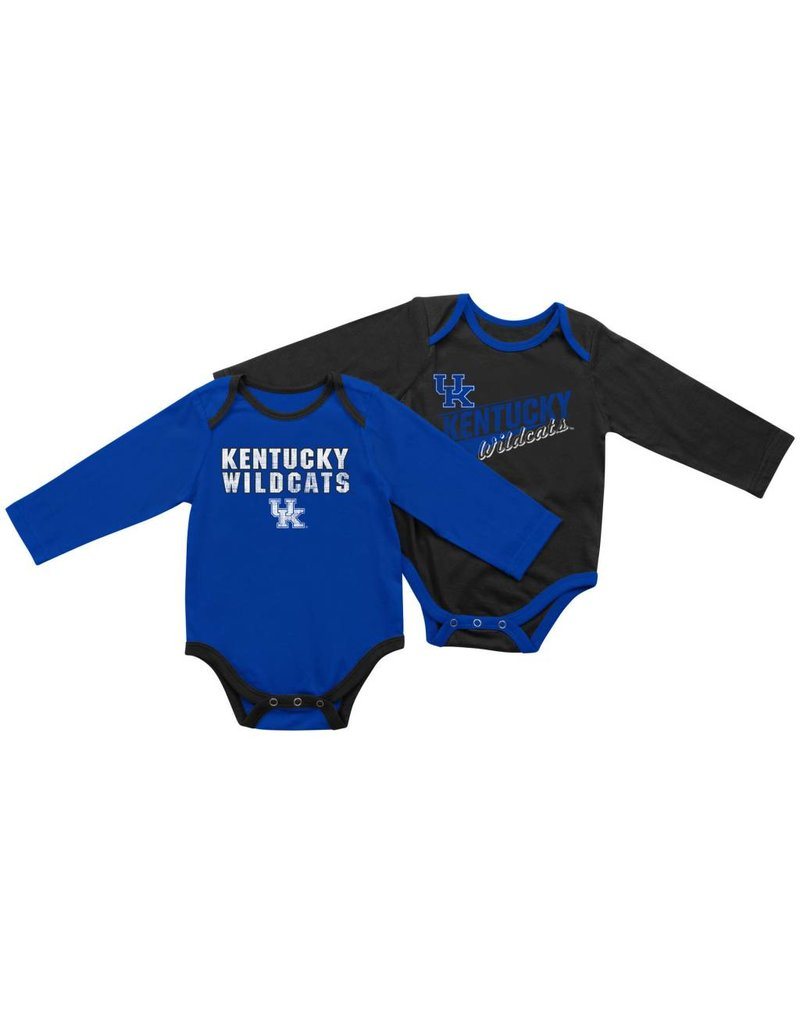 Colosseum Athletics ONESIE, INFANT, LS, 2-PACK, UK