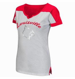Colosseum Athletics TEE, LADIES, SS, GET SPIRITED, UL