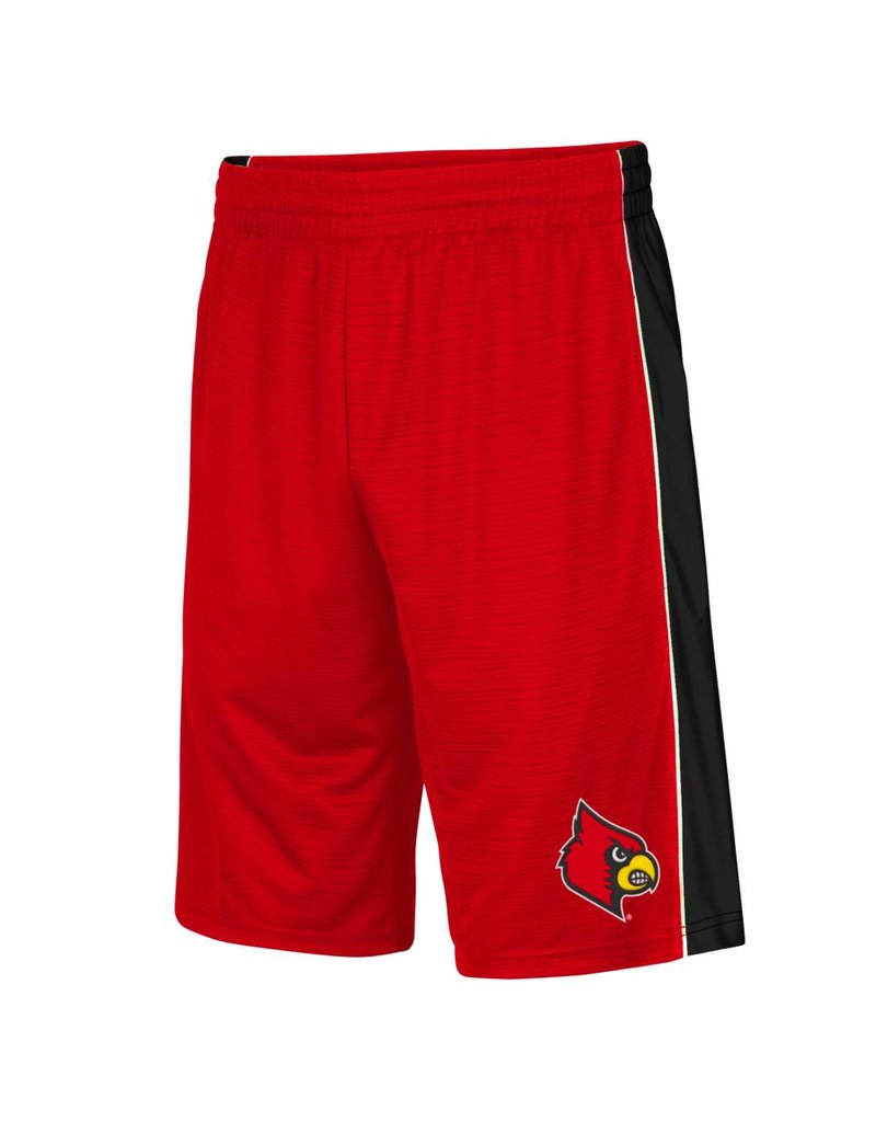 Colosseum Athletics SHORT, YOUTH, LAYUP II, RED, UL