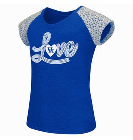 Colosseum Athletics TEE, YOUTH, SS, GIRLS, LACE, UK