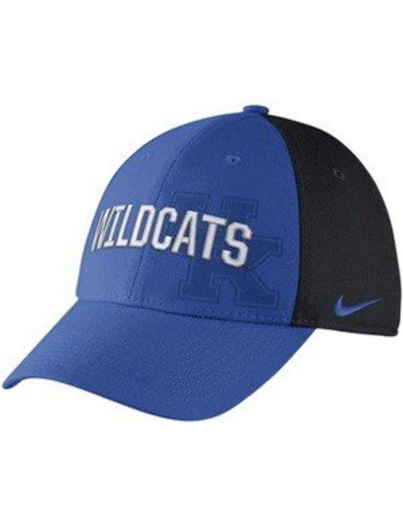 Nike Team Sports HAT, FLEX FIT, NIKE, SWOOSH FLEX, ROYAL, UK