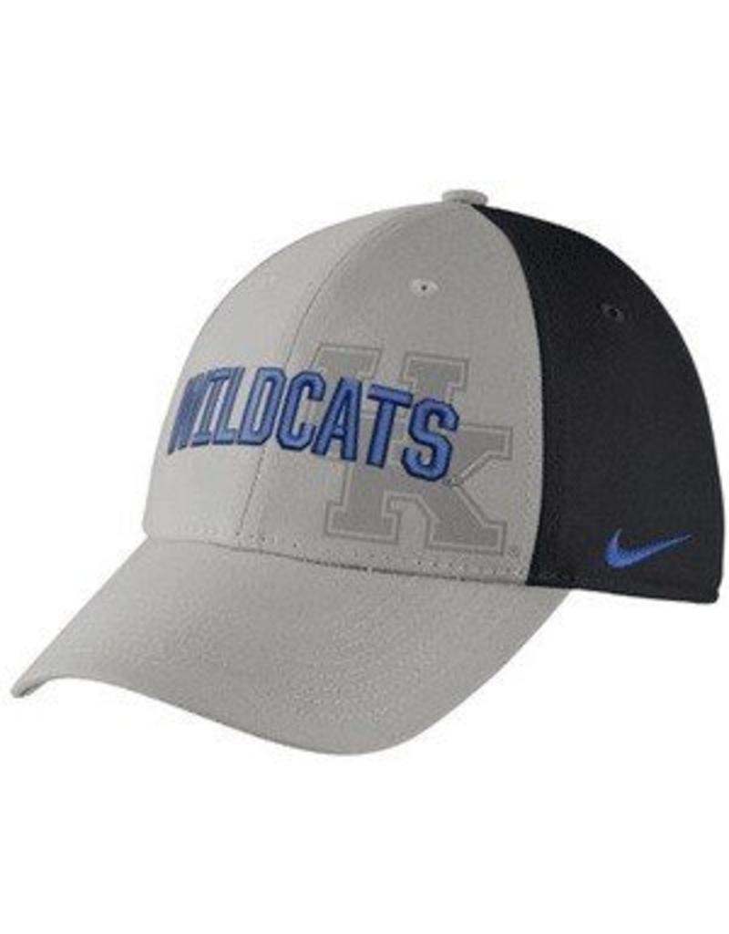 Nike Team Sports HAT, FLEX-FIT, GRAY SWOOSH FLEX, UK