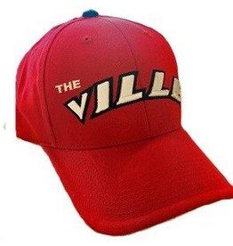 HAT, ADJUSTABLE, RED, THE VILLE, UL