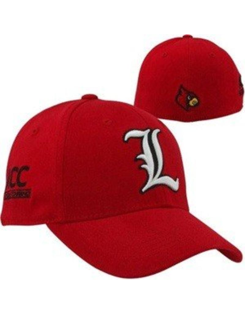 Top of the World HAT, FLEX FIT,  ACC, RED, UL