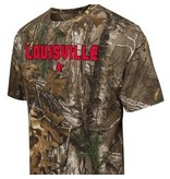 Colosseum Athletics TEE, CAMO, RED ARCH, UL