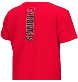 Colosseum Athletics TEE, YOUTH, SS, GACK, RED, UL