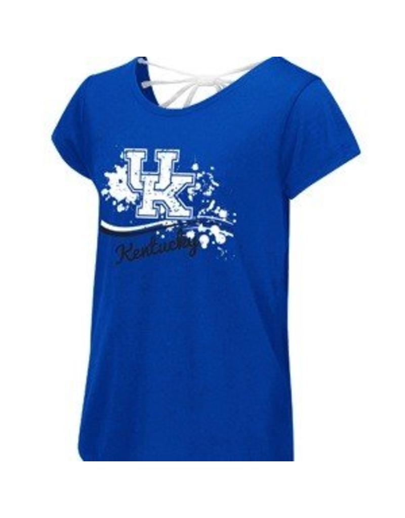 Colosseum Athletics TEE, YOUTH, SS, GIRLS, BOW, ROYAL, UK