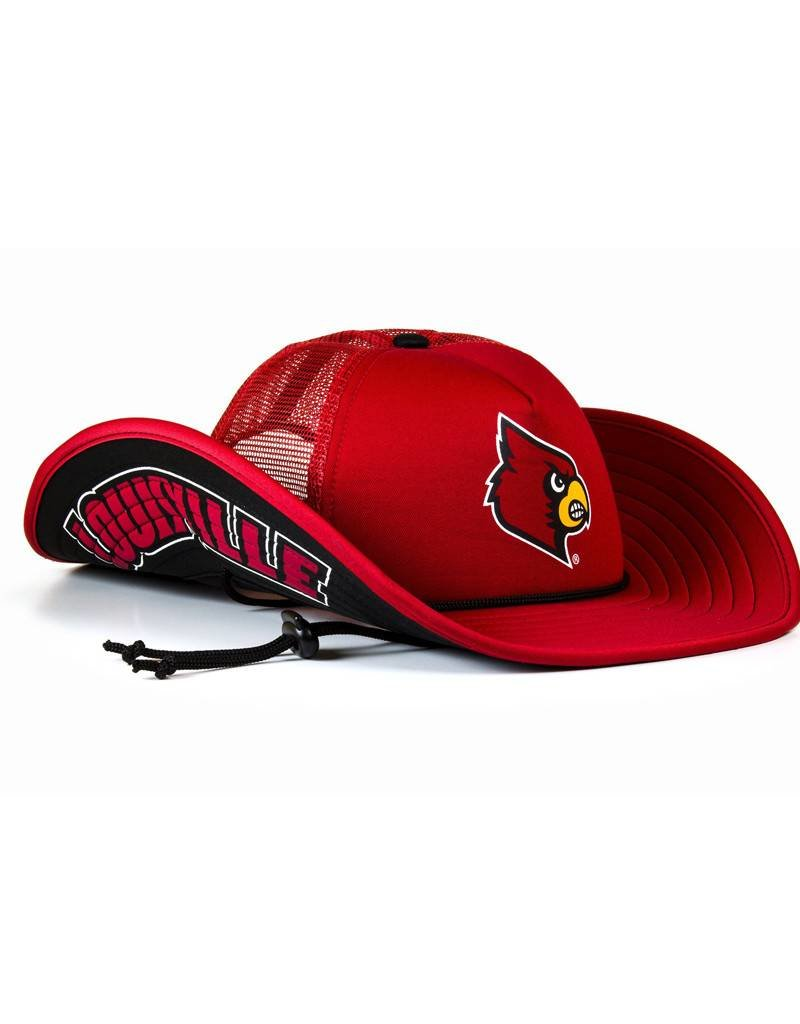 HAT, COWBUCKER, RED, UL