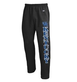 Champion Products PANT, SWEAT, OPEN LEG, BLACK, UK
