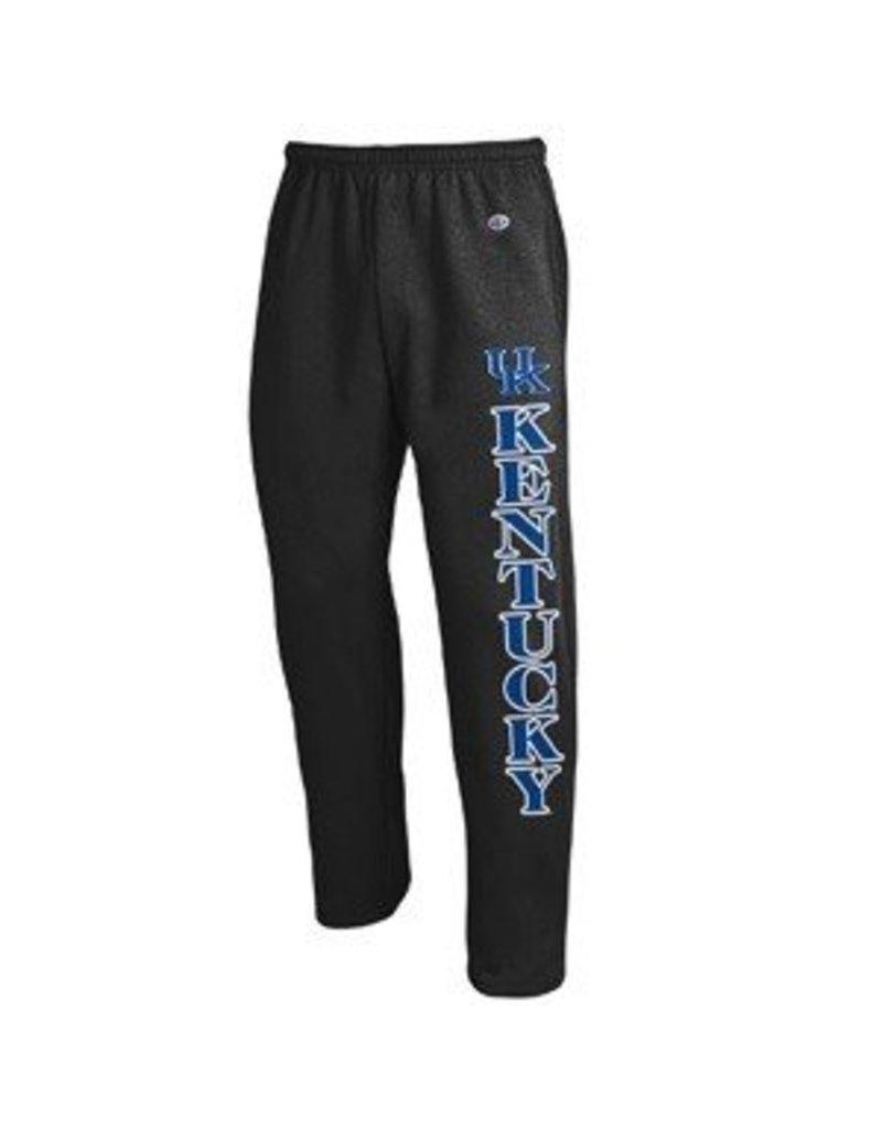 Champion Products PANT, SWEAT, OPEN LEG, BLACK, UK