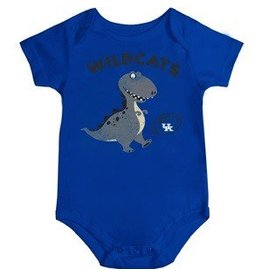 Colosseum Athletics ONESIE, INFANT, SS, DINO FAN, ROYAL, UK