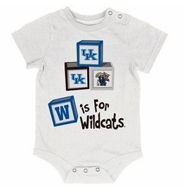 Colosseum Athletics ONESIE, INFANT, SS, BUILDER, WHITE, UK