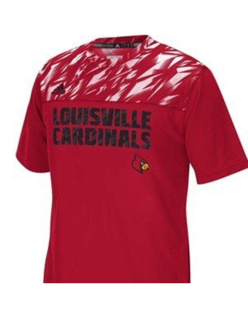 Adidas Sports Licensed TEE, CREW, SS, RED, SIDELINE, UL