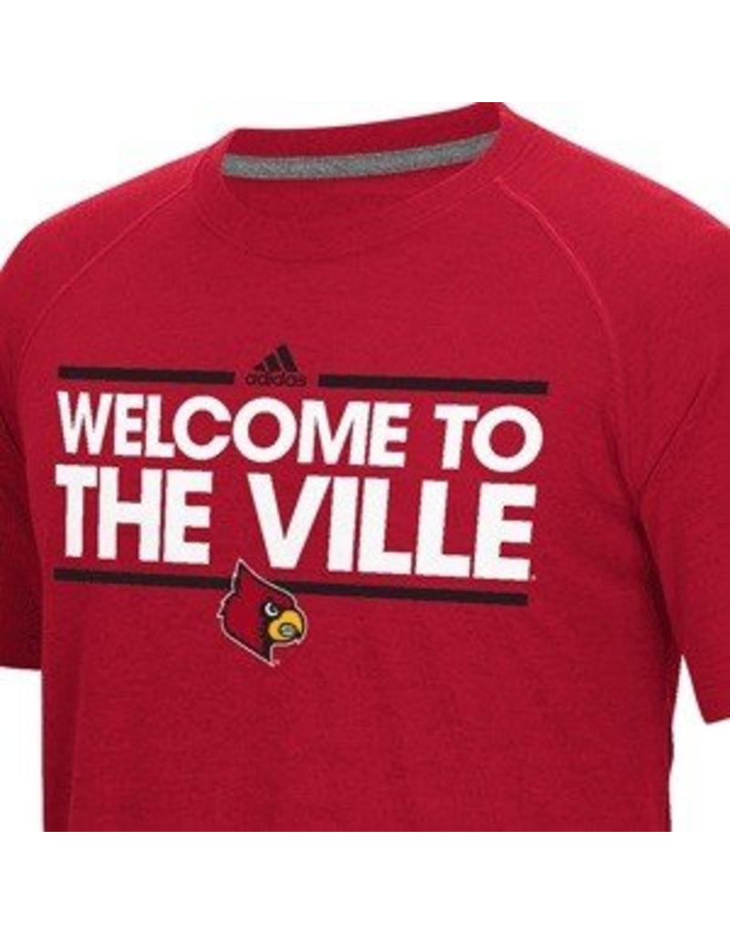 Adidas Sports Licensed TEE, SS, WELCOME..VILLE, UL