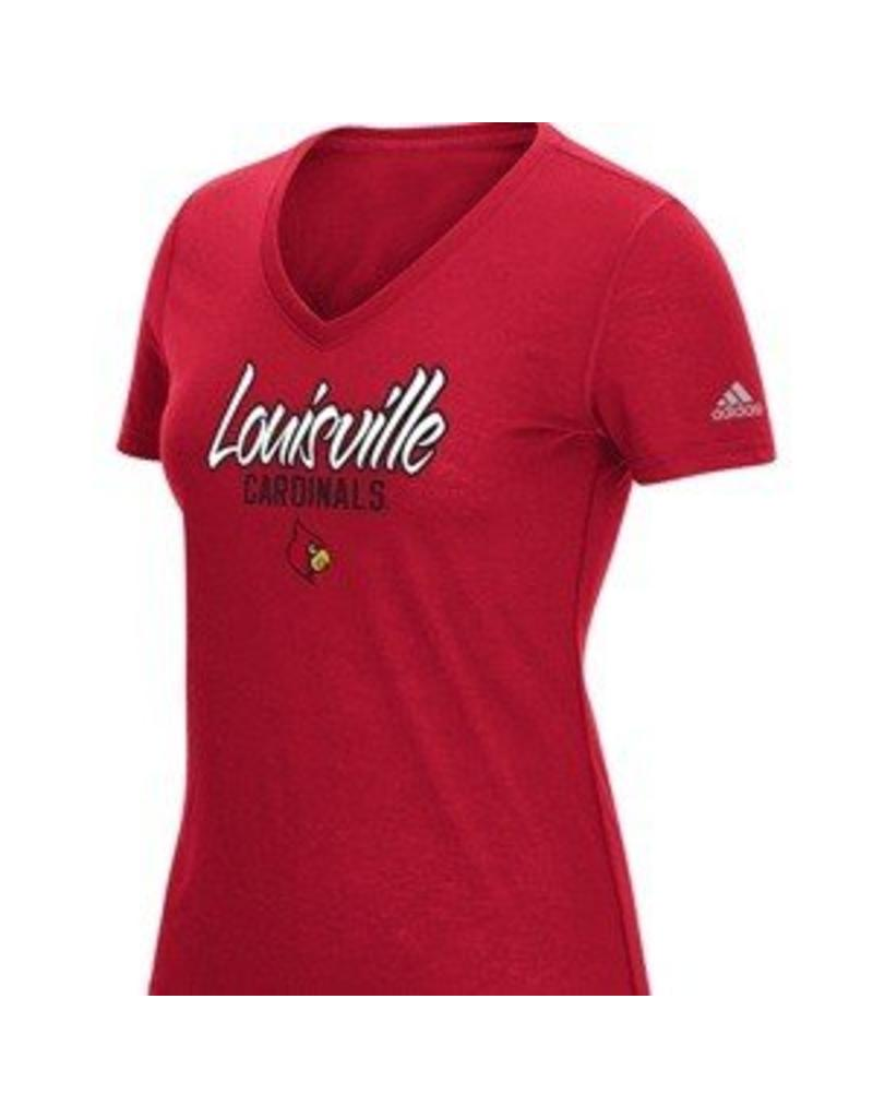 Adidas Sports Licensed TEE, LADIES, SS, V-NECK TRAINING, UL