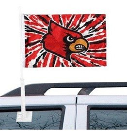 Jaymac Sports Products CAR FLAG, TIE DYE, UL