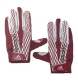 Saranac Gloves GLOVES, ADIDAS, ADIZERO, RECEIVER, RED, UL