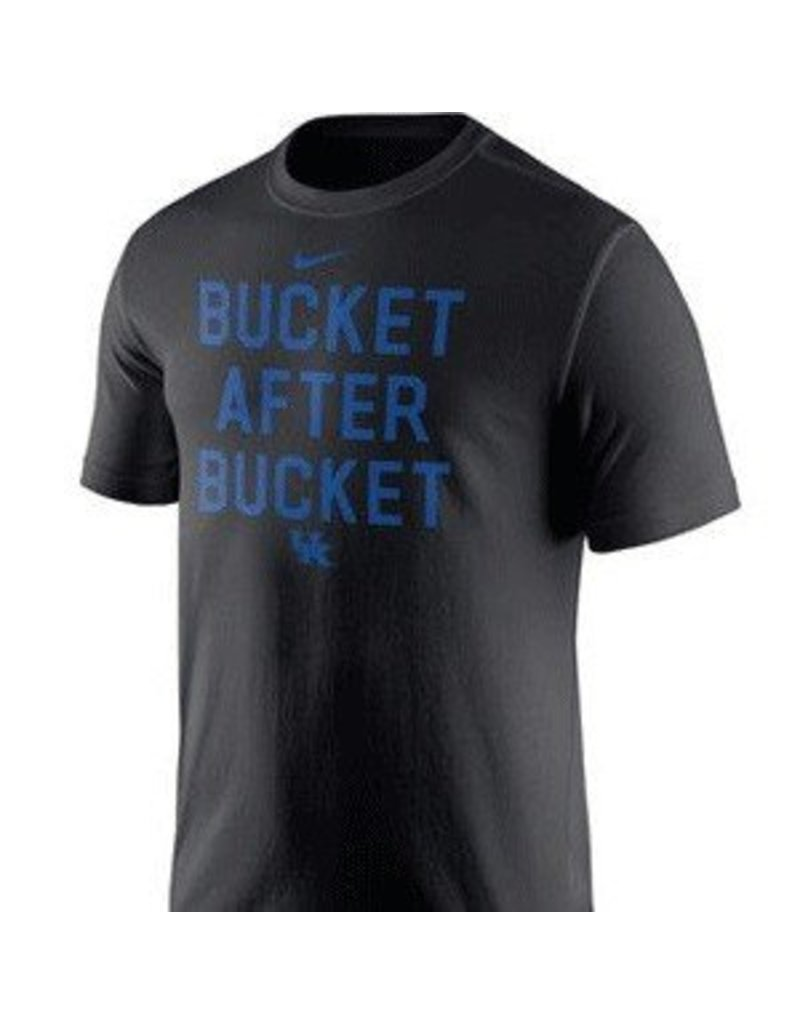 Nike Team Sports TEE, SS, NIKE, BUCKETS, BLACK, UK