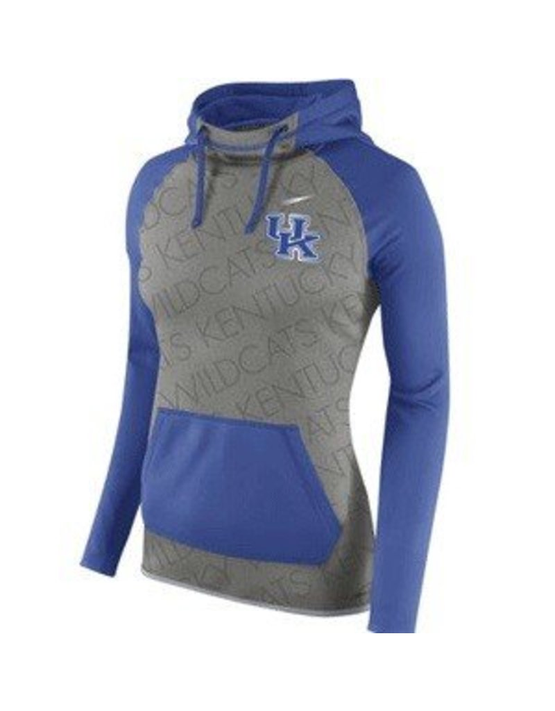 Nike Team Sports HOODY, LADIES, NIKE, ALL TIME, GRAY/ROYAL, UK