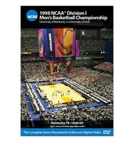 DVD, 1998 NCAA CHAMPIONSHIP GAME, UK
