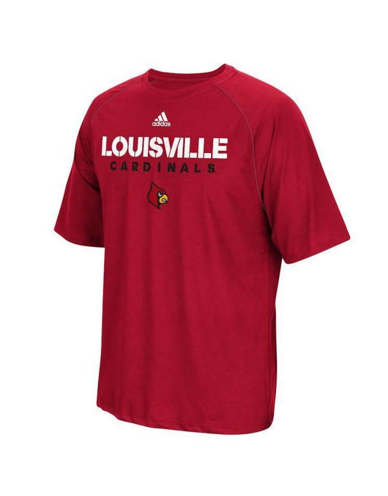 Adidas Sports Licensed TEE, SS, ADIDAS, SIDELINE, RED, UL