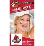Fan A Peel FACE TATTOOS, BIRD WING, 4 PACK, UL