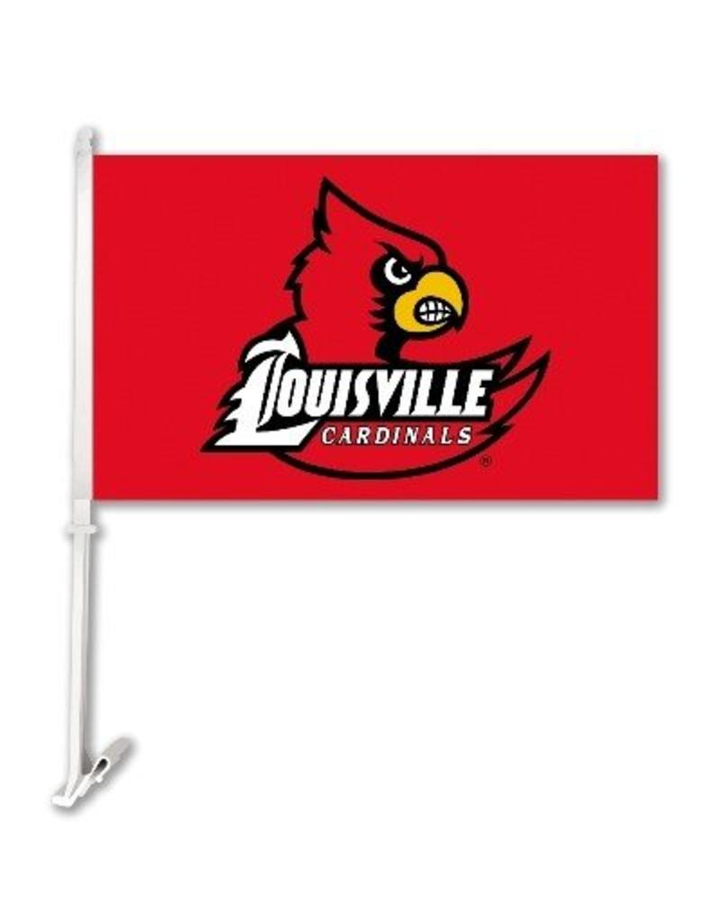 BSI Products CAR FLAG, RED, WING LOGO, UL