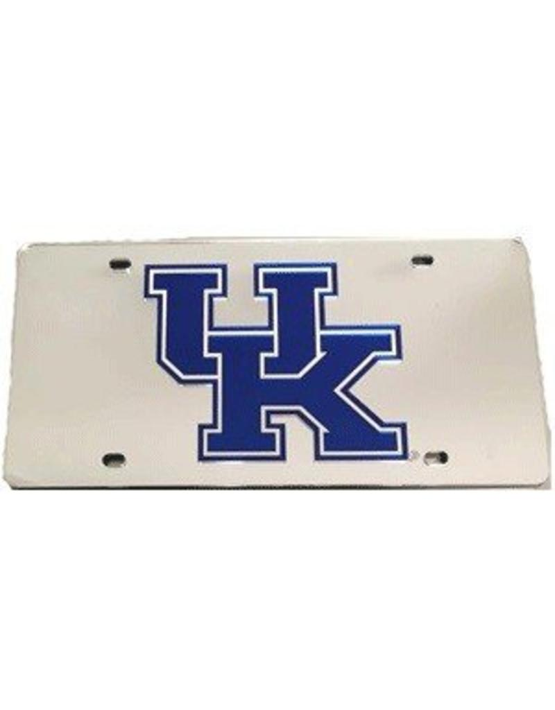 Stockdale Technologies LICENSE PLATE, SILVER, LASER CUT, UK