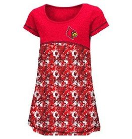 Colosseum Athletics DRESS, TODDLER, GIRLS, FOUNTAIN, RED, UL