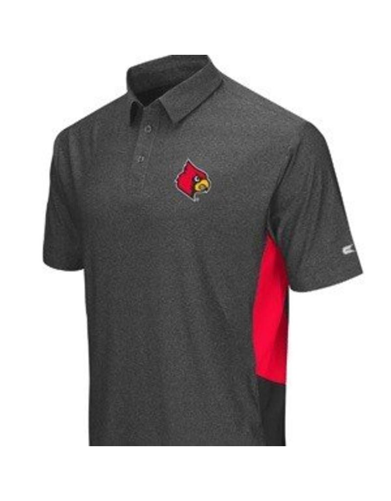 Colosseum Athletics POLO, BRO (MSRP  $60.00), CHAR/RED, UL