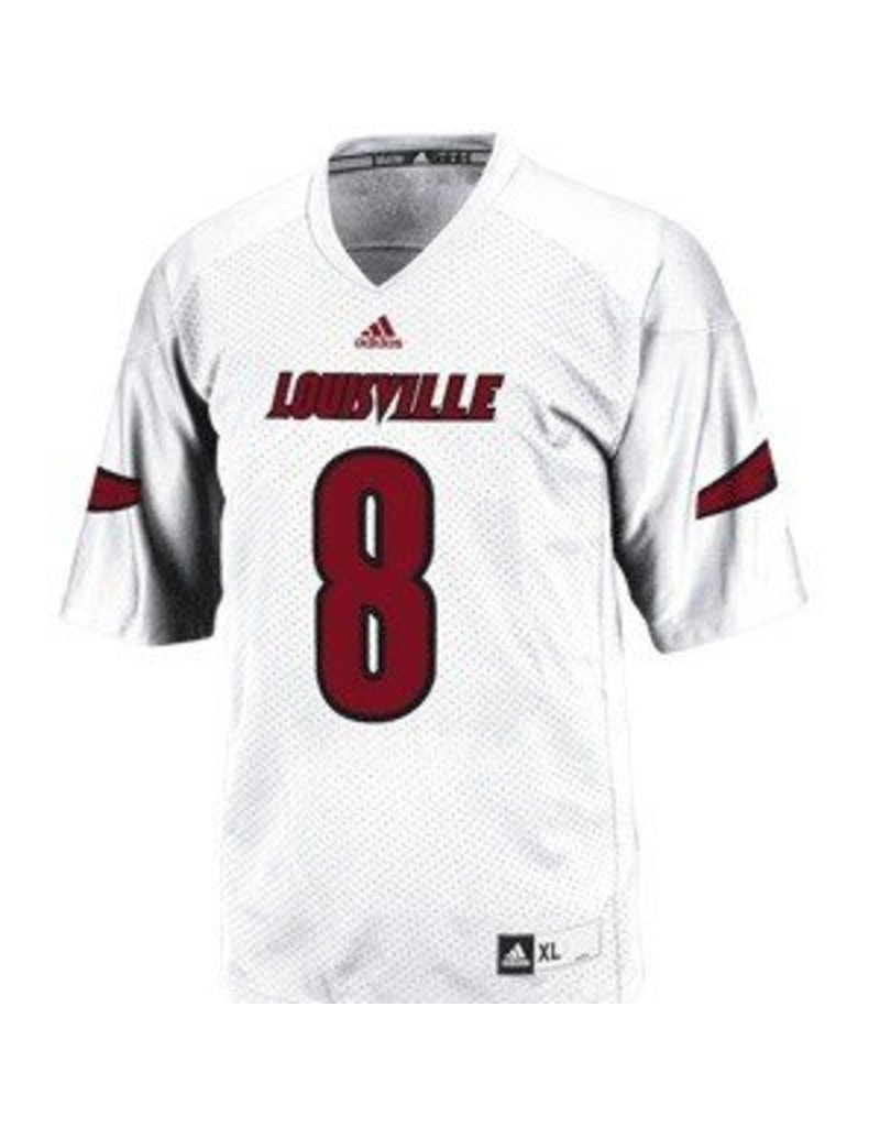 Adidas Sports Licensed JERSEY, FOOTBALL, WHITE, #8 REPLICA, UL