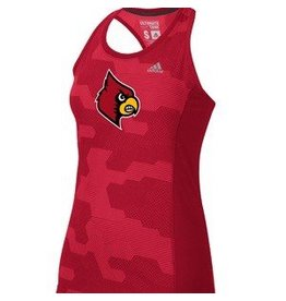 Adidas Sports Licensed TANK, LADIES, ADIDAS, SUNLIGHT CAMO, RED, UL
