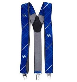 Eagles Wings Neck Tie SUSPENDERS, OXFORD, ROYAL, UK